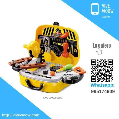 Juego de herramientas, little tools play set