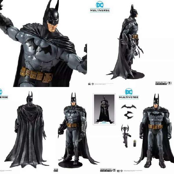 Batman arkham asylum - dc multiverse - figura de acción.