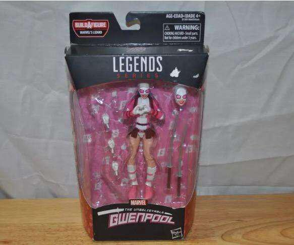Gwenpool Figura Accion Marvel Legends series