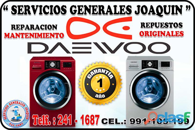Brindamos el mejor servicio tecnico = DAEWOO = lavadoras, refrigeradoras 241 1687