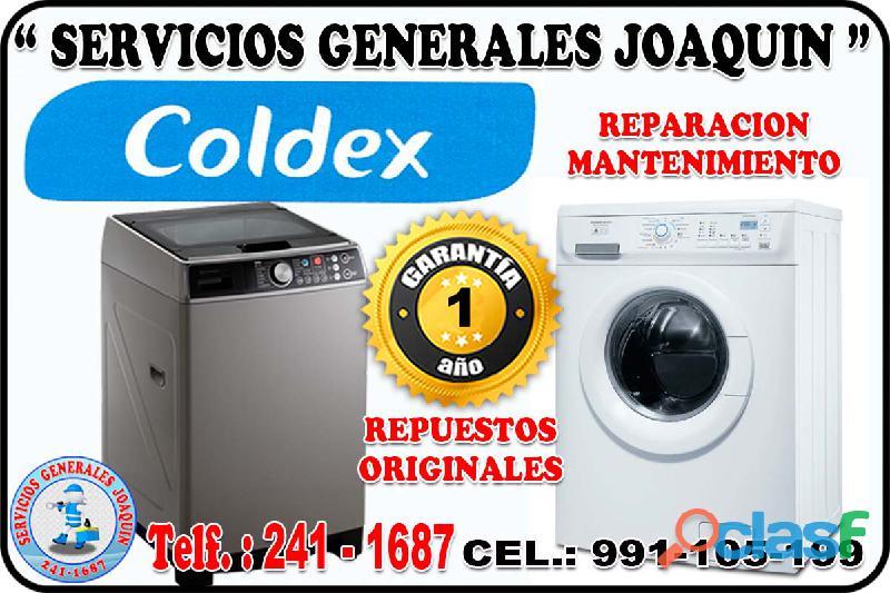 Servicio técnico ** COLDEX ** lavadoras,refrigeradoras 2411687 surquillo