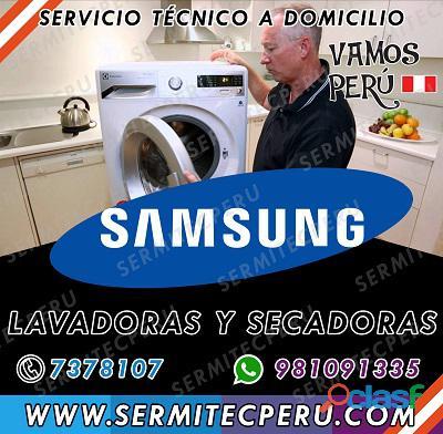 ¿Su secadora Samsung está fallando? Contáctanos 981091335 1