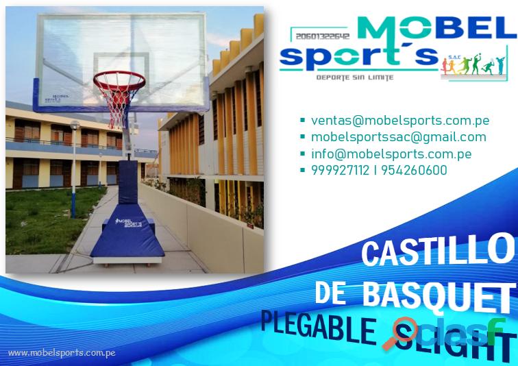 TABLERO DE BASQUET PLEGABLESLIGHT MOBEL SPORTS