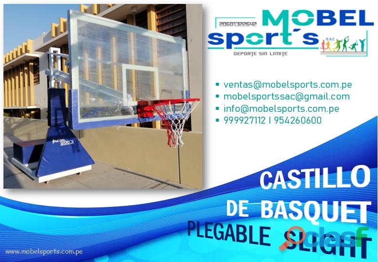 TABLERO DE BASQUET PLEGABLESLIGHT MOBEL SPORTS 2