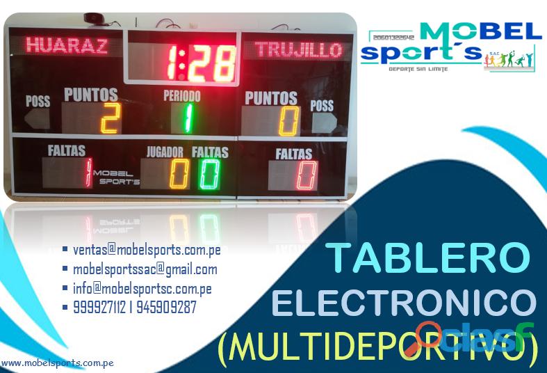 TABLERO DE BASQUET PLEGABLESLIGHT MOBEL SPORTS 5