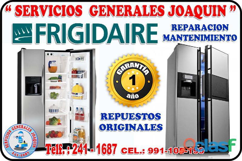 Técnicos especialistas * FRIGIDAIRE * lavasecas, secadoras 991 105 199