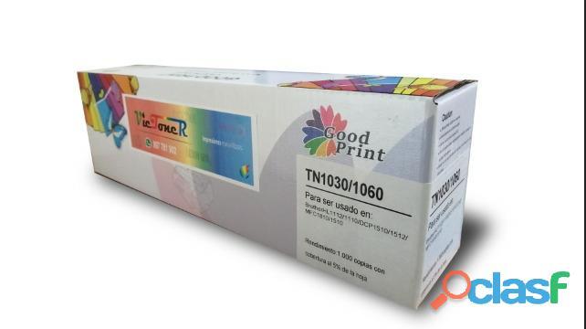 TN 1060 TONER BROTHER HL 1202/HL 1122/DCP 1512/dcp 1602, 1200 PAGINAS