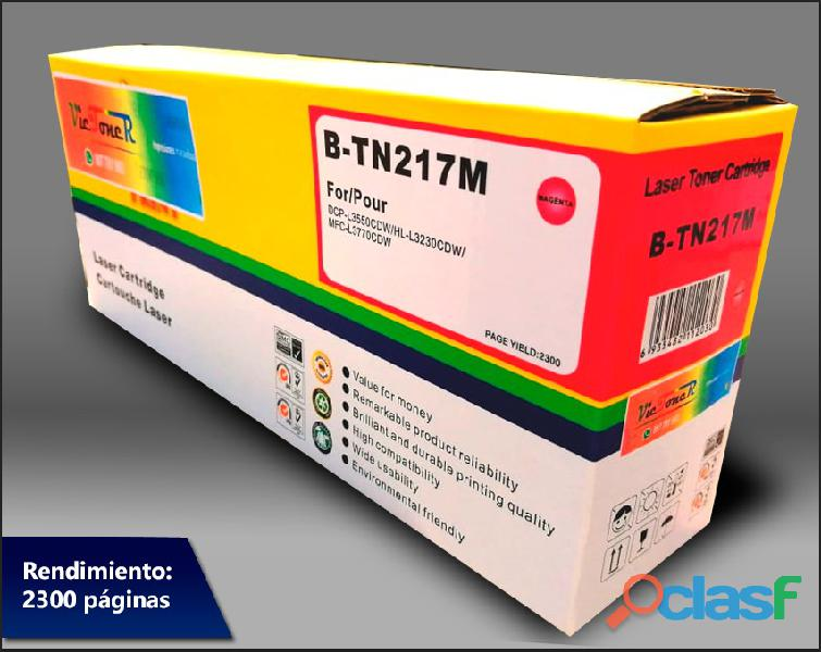 TN 217K Toner Brother HL L3270cdw/DCP L3551cdw/MFC L3750cdw Black 3.0K 2