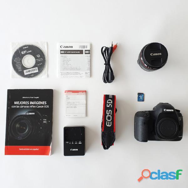 Vendo Canon 5d Mark Iii + Lente 50mm 1.2 (SEMI NUEVA)