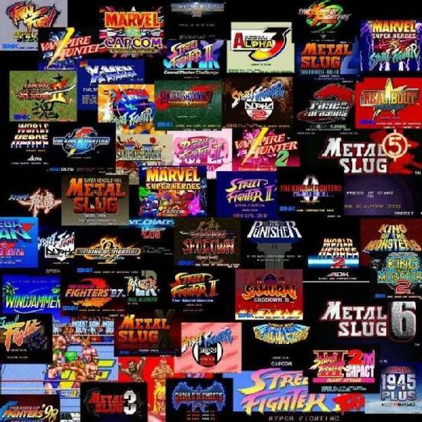 Juega 18 consolas y maquinas de videojuegos arcade y mas de