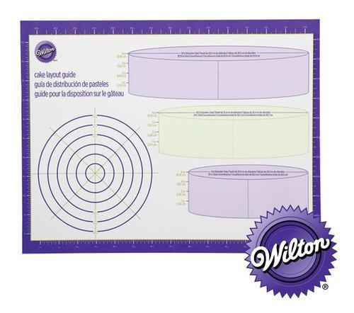 Mantel de diseño de pasteles 80x61cm wilton - repostería