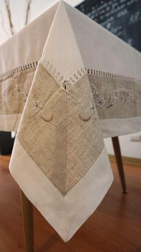 Mantel de lino