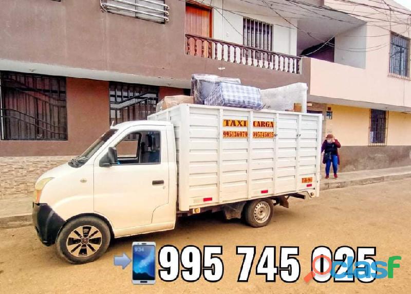 Camión taxi carga y mudanza
