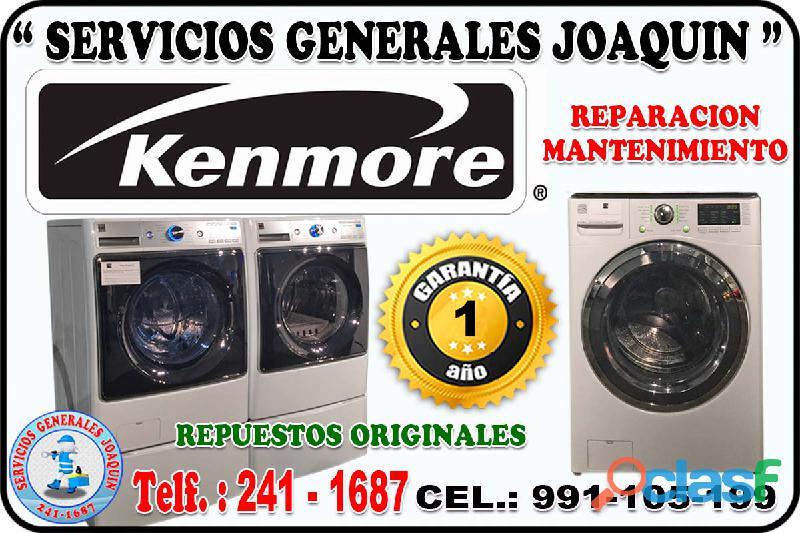 Servicio técnico kenmore reparaciones de lavadoras, secadoras 991 105 199