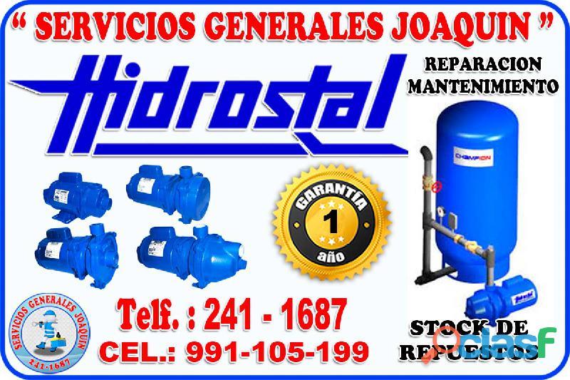 Soluciones tecnico de electrobombas hidrostal 241 1687 en todo lima