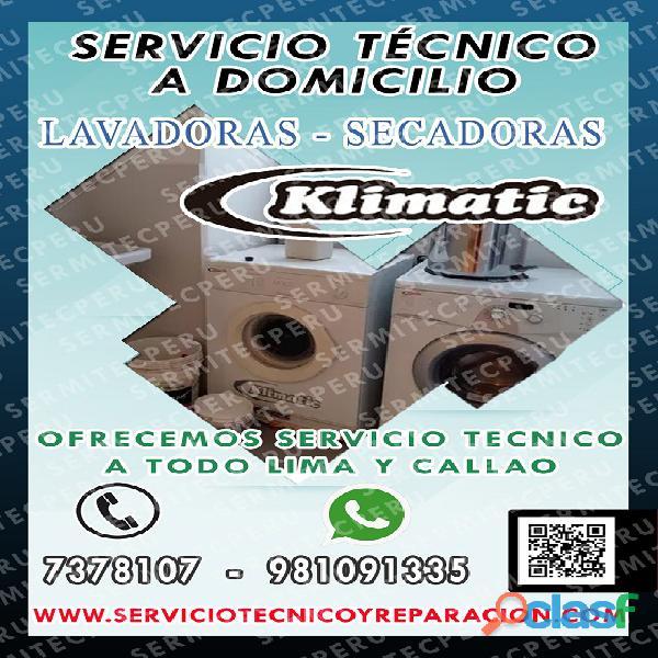 981091335> Servicio de SECADORAS KLIMATIC – En San Martín de Porres