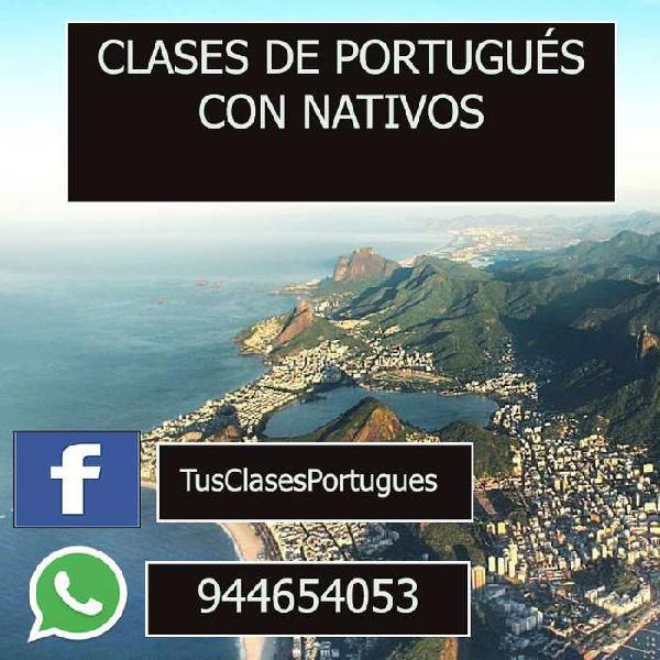 Asesoría y curso de portugués brasilero