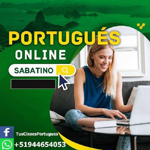 Curso de portugués en todos los niveles