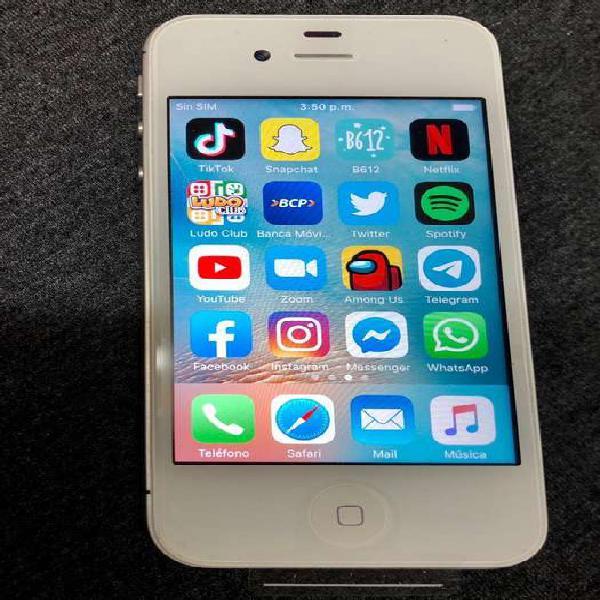 Vendo iphone 4s en cajita