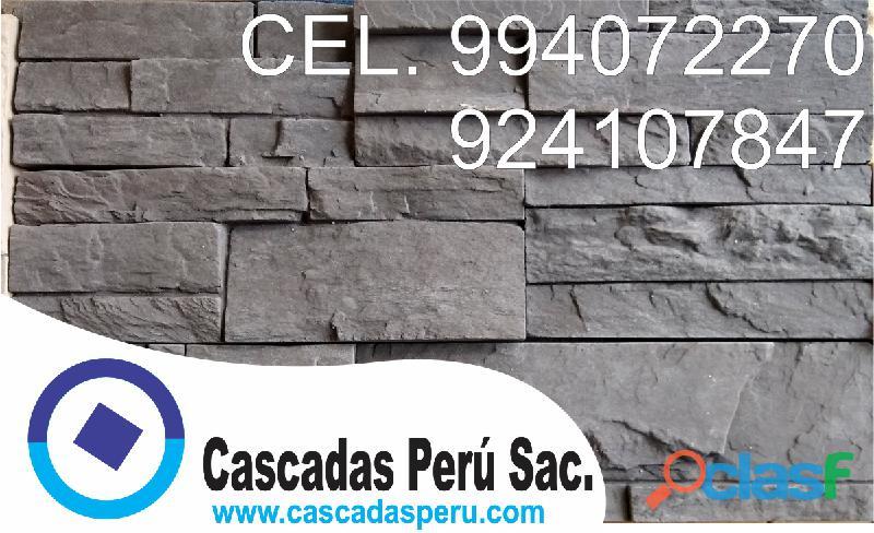 Fachaletas de piedra natural , fachaleta de piedra laja , piedra laja pared