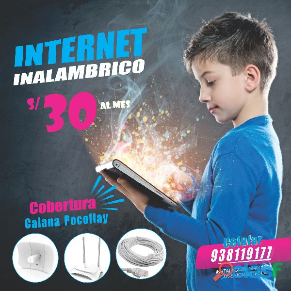 POCOLLAY INTERNET INALAMBRICO