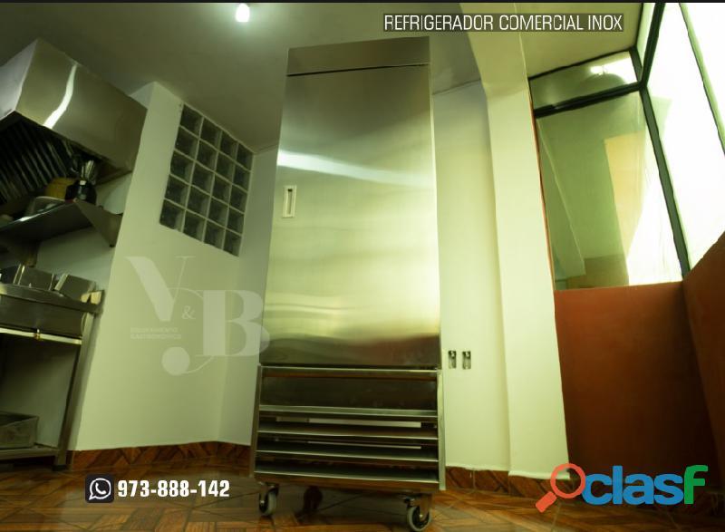 Refrigerador de 01 puerta en acero inoxidable