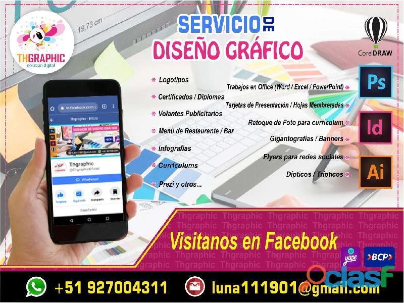 SERVICIO DE DISEÑO GRÁFICO DIGITAL