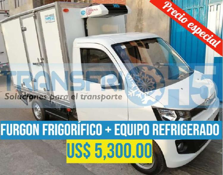 Fabricación furgones frigoríficos y thermo king
