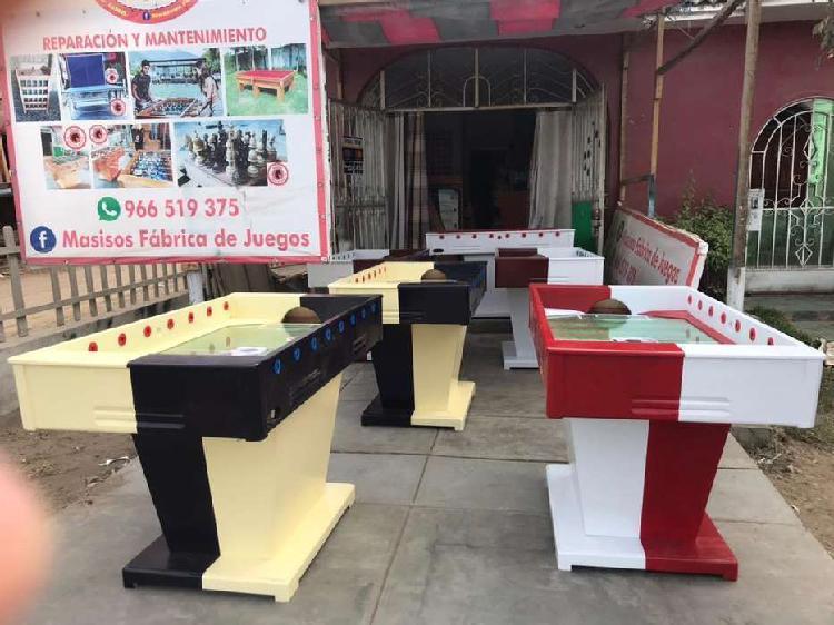 Mesa de fulbito mesa de sapo ajedrez billas ping pong
