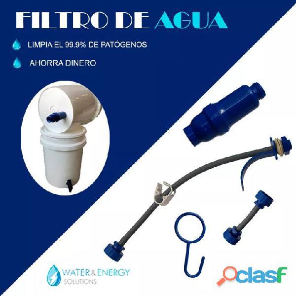 Equipos purificadores de agua portatil
