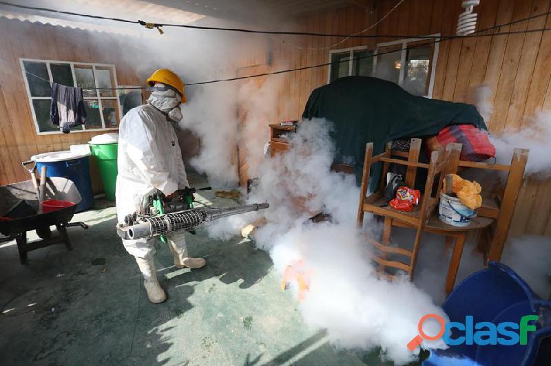 Fumigaciones de cucarachas, acaros, pulgas, ratas etc. 990971105