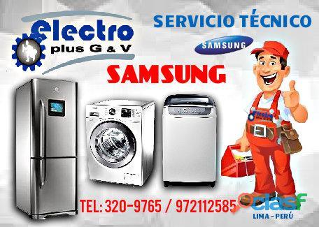 Servicio grato, servicio técnico de refrigeradoras samsung, 972112588