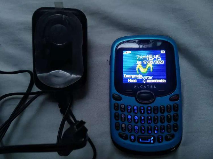Alcatel ot 255a servicio movitalk movistar teclado qwerty