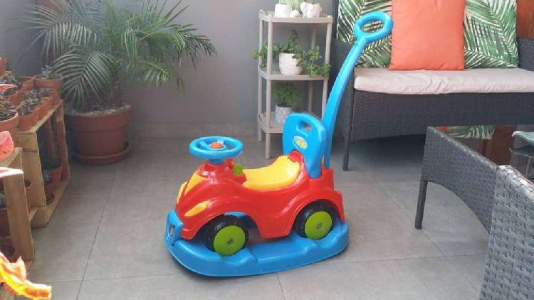 Buggie, andador, mecedor para niños 1 a 3 años (sin uso)
