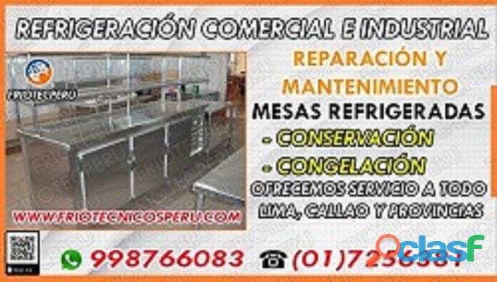 Ll@m@! 017590161 Reparacion«Mesas Refrigeradas» Jesus Maria