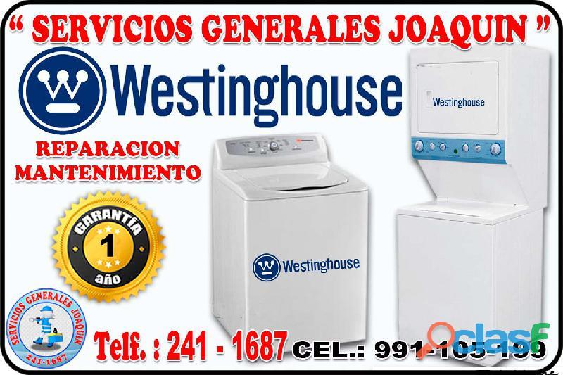 «Profesionales Westinghouse » 991 105 199 « Reparacion de Lavasecas, secadoras