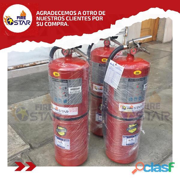 Venta de Extintores Recomendados por OSINERGMIN   Piura