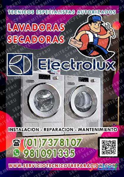 Soluciones Rápidas Aquí > Servicio técnico en SECADORAS ELECTROLUX – San Bartolo