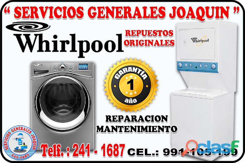 Técnicos de secadoras, lavadoras, centro de lavado whirpool en lima peru