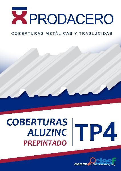 Calaminas tr4   aluzinc tr5   prodacero sac