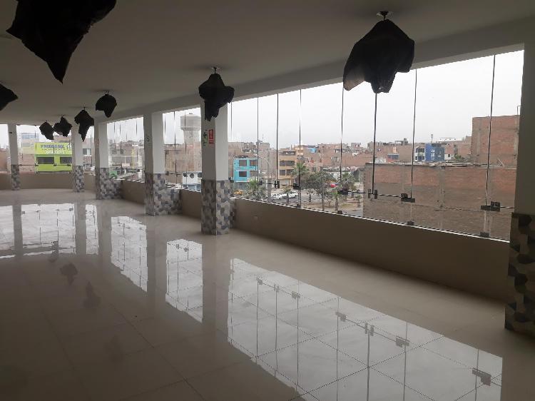 Alquiler de local comercial 4to piso en avenida