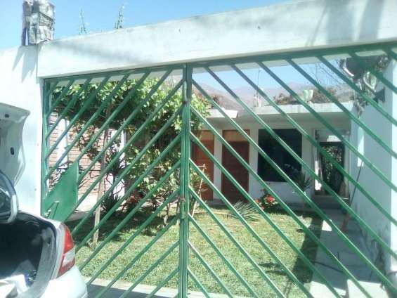 Alquiler de casa de campo cerca a lunahuana (zona de