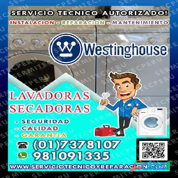 San gabriel ●profesionales de lavadoras westinghouse ☎ 7378107