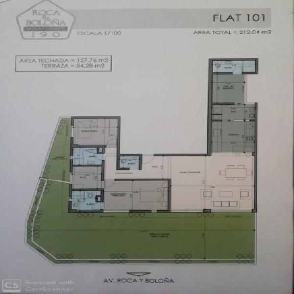 Primer piso departamento en aurora miraflores con amplias