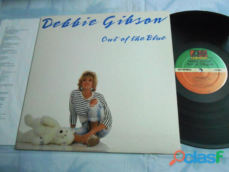Lp debbie gibson out of the blue usa insert