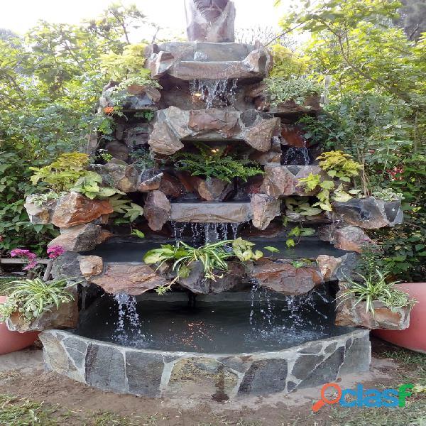 Cascadas artificiales, venta de cascadas artificiales en lima, cascadas artificiales pequeñas