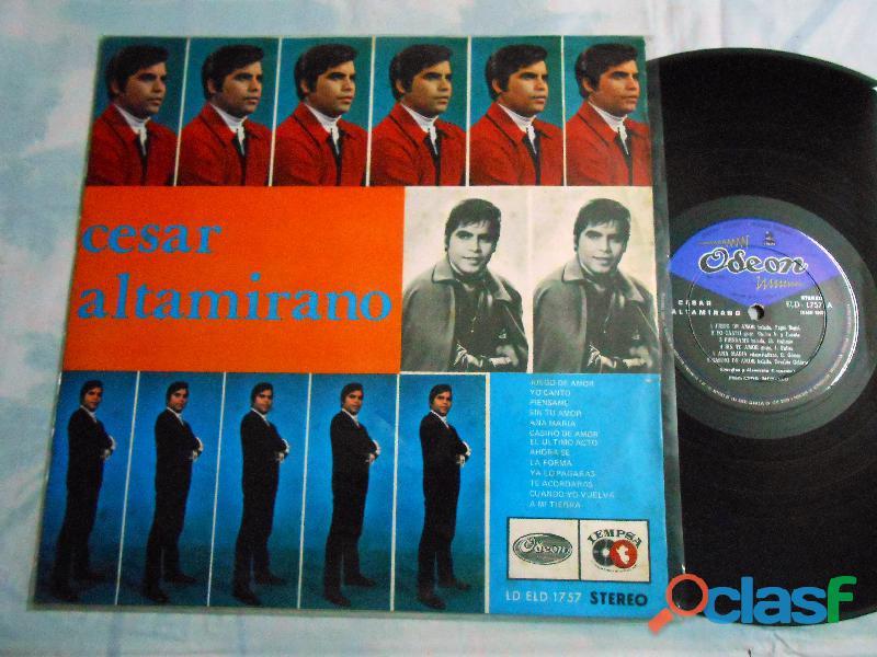 Lp cesar altamirano solista peruano disco raro de coleccion