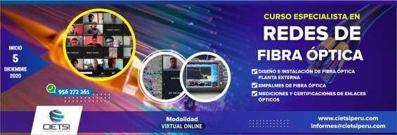 Curso especialista en redes de fibra óptica 2da edición