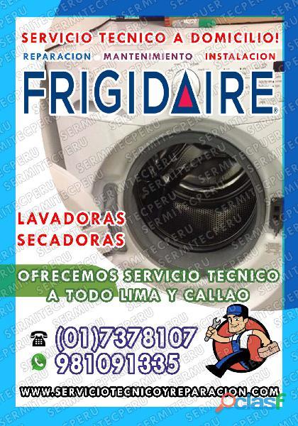 ¡a toda hora!! técnicos de lavadoras frigidaire>> san miguel