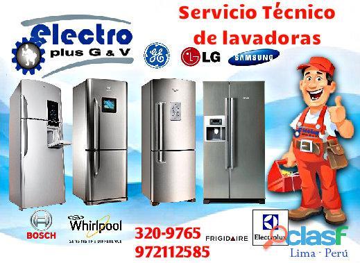 servicio temprano, servicio técnico de refrigeadoras samsung, 972112588